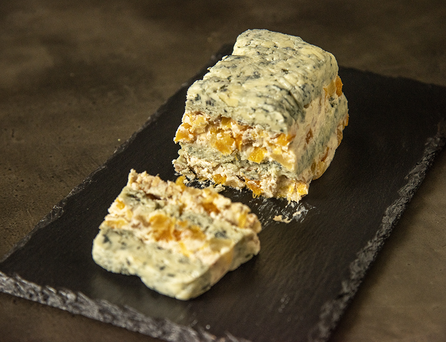 Terrine de Gorgonzola, Damasco e Nozes